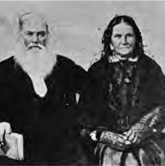 Asa and Lucy Goodale Thurston Photo